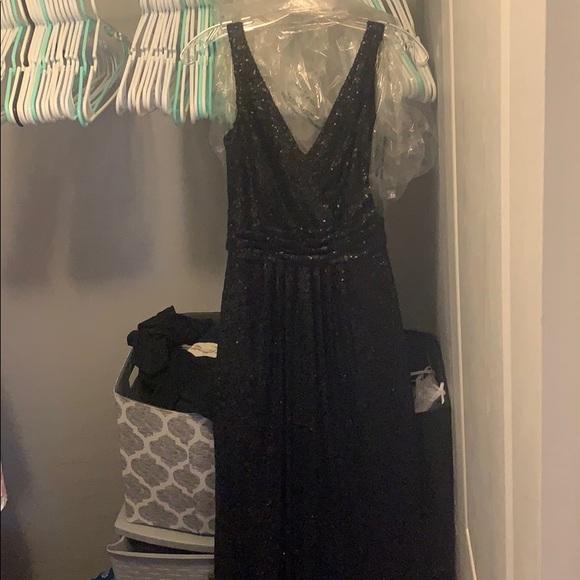 SORELLA VITA Dresses & Skirts - Sorella Vita Black Sequin Dress / Bridesmaid Dress